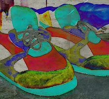 Psychedelic Slippers by Scott Mitchell
