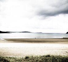 on the beach by Jon Downs