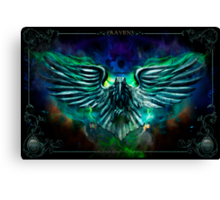 The Cowards Way: Raven, The Haunted Mansion Series  Canvas Print