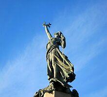 The Northernhay war memorial, Exeter by buttonpresser