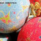 Baubles,Merry Christmas. by Livvy Young