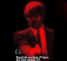 English Motherf*cker? by Justin Minns