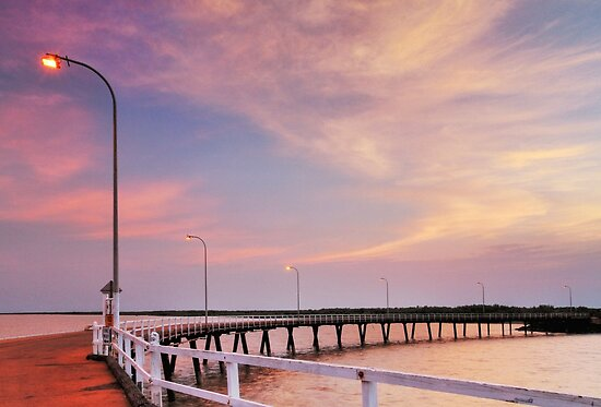 Derby Jetty Sunrise by Mark Ingram
