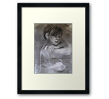 The Reality of Me Framed Print