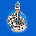 Doge's Palace & San Marco Little Planet by Sheila Laurens
