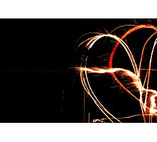 Heart's On Fire Photographic Print