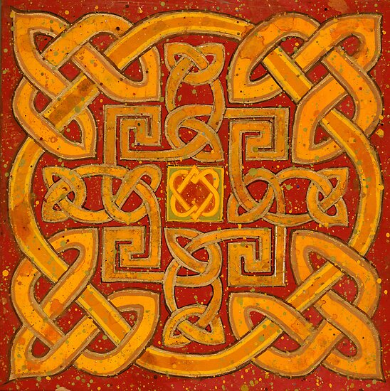 Celtic Knot by Richard Bradish Jr