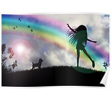 Windy McGee At The End Of The Rainbow. Poster