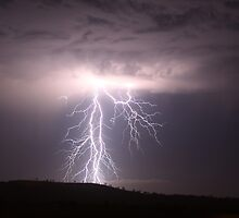Toowoomba Lightning by Anthony Cornelius
