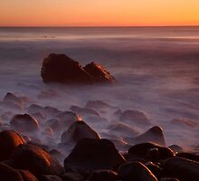 Burleigh Heads Sunrise by Anthony Cornelius