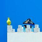 Battlements in Blue II by Damienne Bingham