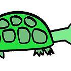 Stock Tip Tortoise by Ollie Brock