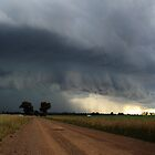 Hail Storm Panorama by Greg Thomas