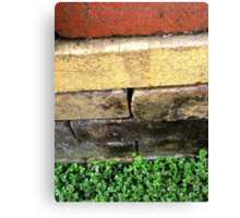 """""""Bricklayer's Layers"""" Canvas Print"""