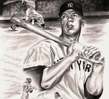 Mickey Mantle by Kathleen Kelly-Thompson