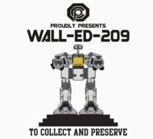 Wall-ED-209 by Baardei