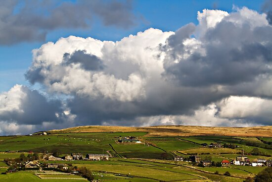 Big Skies Over Pecket Well by inkedsandra