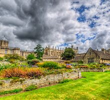 Christ Church College Garden  by Yhun Suarez