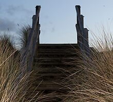 Beach Stairs by AlexanderFord