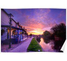 The Boat Inn Sunrise Poster