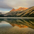 Bow Lake Sunrise  by Teresa Zieba