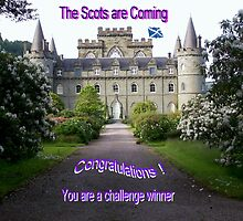 Challenge Banner, The Scots are Coming by ElsT