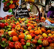 Tomatoes at the Borough Market by ClaudineCook