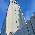 Icelandic church by venitakidwai1