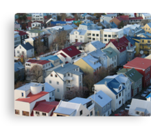 Reykjavik Canvas Print
