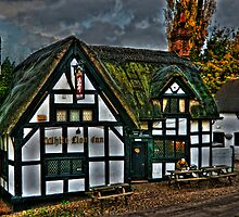 White Lion Inn by David J Knight