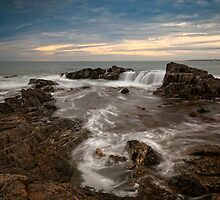 Seafalls by Rashid Latiff