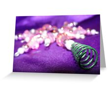Christmas Bling Greeting Card