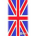 Asking Alexandria Union Jack iPhone Case by StuFranks