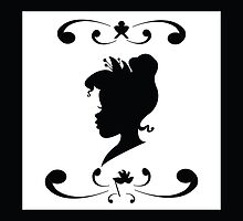 Princess Tiana Silhouette by joshda88