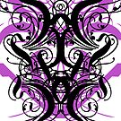 Black n' Purple Swirly Thingey by quigonjim