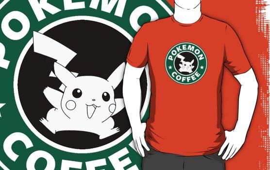 Pokemon Coffee by Royal Bros Art