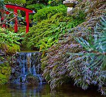 Canada. BC. Butchart Gardens. Japanese Garden. by vadim19