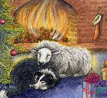 Merry Christmas to Ewe by SusanAlisonArt