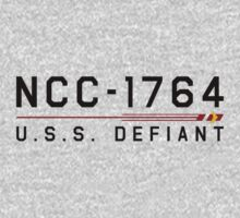 ST Registry Series - Defiant Classic Logo by Christopher Bunye