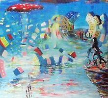 le cycliste fantastiques by Matthew Scotland