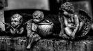 Three Cherubs -- Miami Cemetery by njordphoto