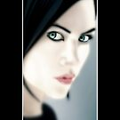 Charlize Theron as Aeon Flux [iPhone case] by Damienne Bingham