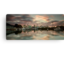 Shrouded in Pink Canvas Print