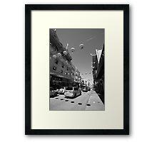 Streets of San Francisco III Framed Print