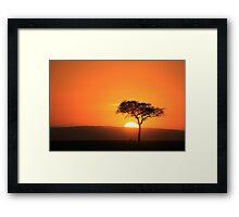 Paradise on Earth Framed Print