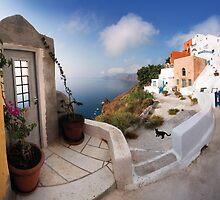 Oia, Santorini  by Kelly Kingston