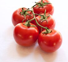 Vine Tomatoes by Julia Ott