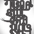 Typographic Graphic by HeatWave