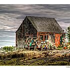 Lobsterman&#x27;s Shack of Mackerel Cove by Richard Bean