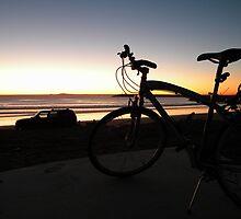 Ensenada bay area sunset by RodrigoCardoza